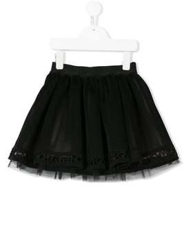 Pleated Tulle Skirt by Givenchy Kids