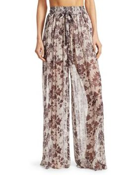 Juno Silk Pants by Zimmermann