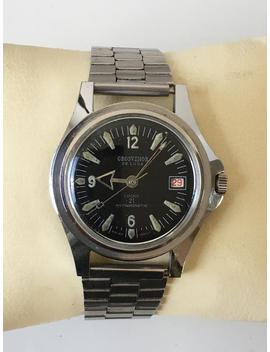 Gents 1970s Grosvenor De Luxe Lucky 21 Diver's Style Watch by Etsy