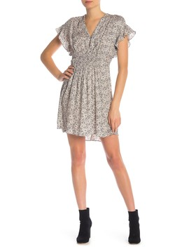 Short Sleeve Silk Dress by Rebecca Taylor