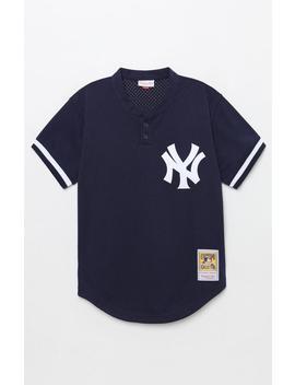 Mitchell & Ness Yankees Baseball Jersey by Pacsun