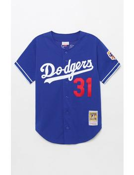 Mitchell & Ness Dodgers Piazza Jersey by Pacsun