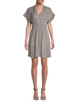 Briar Mid Thigh Silk Sheath Dress by Rebecca Taylor