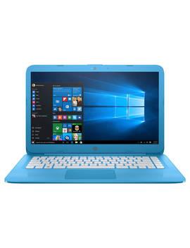 "Hp Stream Laptop, Intel Celeron, 4 Gb Ram, 32 Gb E Mmc, 14"", Blue by Hp"