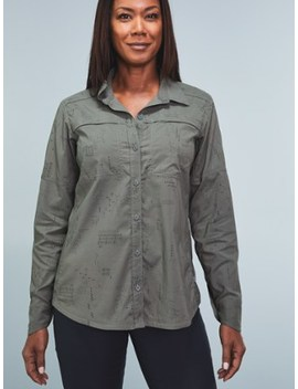 Rei Co Op   Sahara Pattern Long Sleeve Shirt   Women's by Rei Co Op