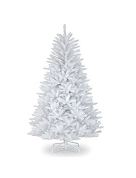 Gift 4 All Occasions Ltd 6 Ft Christmas Tree Snow White 550 Pines Artificial Tree With Metal Stand 180 Cm by Gift 4 All Occasions Ltd
