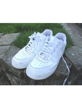 Nike Air Force 1 White Leather Size 11 Uk Trainers 46 Eur Sku 315122 111 by Ebay Seller