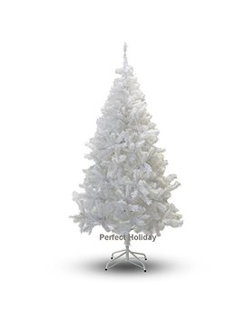 Perfect Holiday Christmas Tree, 4 Feet, Pvc Crystal White by Perfect Holiday