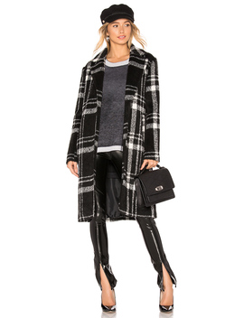Amanda Plaid Coat by About Us