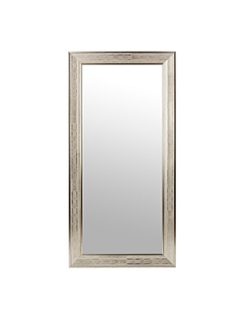 Silver Grid Framed Wall Mirror, 31.5x65.5 In. by Kirkland's