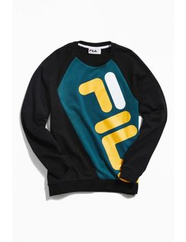 Fila Emmett Colorblock Crew Neck Sweatshirt by Fila