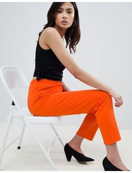 Asos Design Tall Pull On Tapered Pants In Jersey Crepe by Asos Design