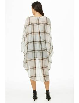 Oversized Plaid Shirt by Forever 21