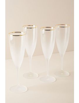 Dobra Flutes, Set Of 4 by Anthropologie