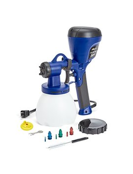 Home Right C800971.A Super Finish Max Power Painter Home Sprayer, Hvlp Spray Gun For Painting Projects, Blue by Home Right