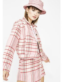 Miss Rumor Has It Plaid Jacket by Etophe Studios