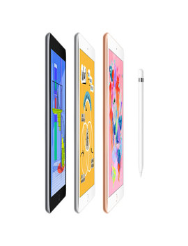 """Apple I Pad 9.7"""" 32 Gb With Wi Fi   Space Grey by Best Buy"""
