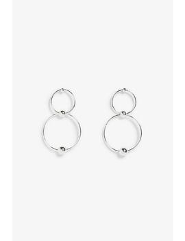 Double Hoop Earrings by Monki