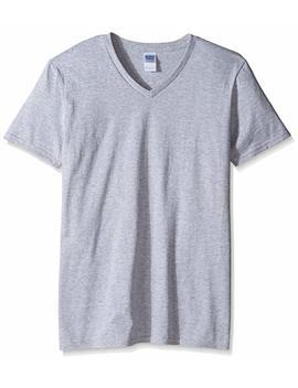 Gildan Men's Fitted Short Sleeve Cotton Crew T Shirt by Gildan