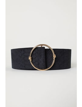 Velvet Covered Waist Belt by H&M
