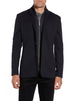 Almond Slim Fit Jersey Blazer by Ted Baker London