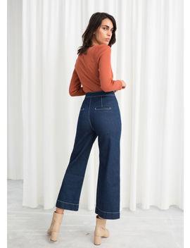High Waisted Flared Jeans by & Other Stories