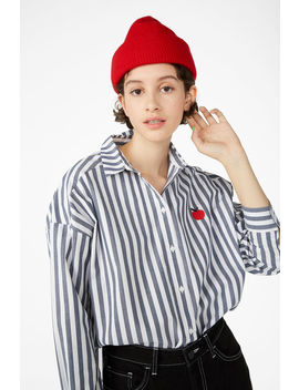 Embroidered Shirt by Monki