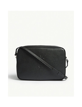 Mono Lou Leather Camera Bag by Saint Laurent
