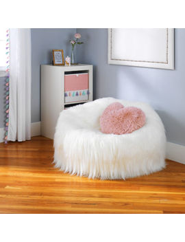 Frank And Lulu Fun Faux Fur Soft Seating by Frank And Lulu