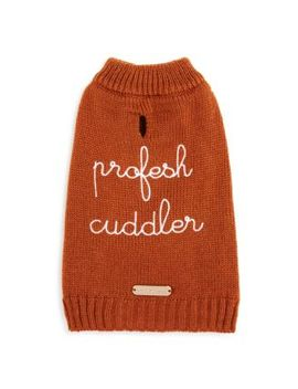 Profesh Cuddler Small Dog Sweater by Max Bone