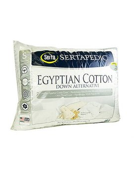 Serta Down Alternative Pillow, White by Serta