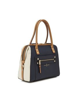 J By Jasper Conran   Multicoloured Stud Detail Bowler Bag by J By Jasper Conran