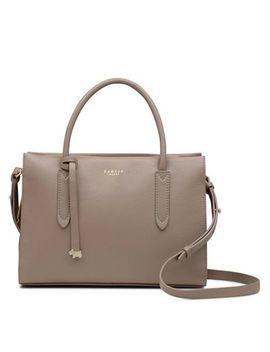 Radley   Taupe Leather 'arlington Court' Medium Multiway Grab Bag by Radley
