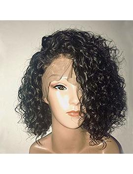 150 Percents Density Curly Lace Front Human Hair Wigs With Baby Hair Pre Plucked 13 X6 Short Human Hair Bob Wigs Brazilian Remy Dorosy Hair by Dorosy Hair