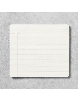 Note Lined Paper Pad   White   Hearth & Hand™ With Magnolia by Hearth & Hand™ With Magnolia