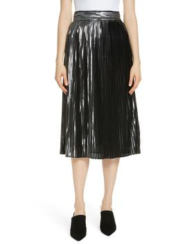 Palace Micropleat Metallic Skirt by Ba&Sh