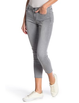 Low Rise Crop Skinny Jeans by J Brand