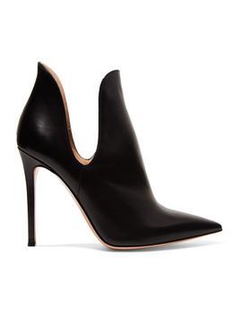 Nagoya 100 Leather Ankle Boots by Gianvito Rossi