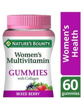 Nature's Bounty Women's Multivitamin Gummies With Collagen – 60 Gummies by Natures Bounty