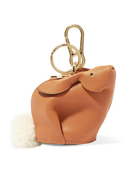 Bunny Leather Bag Charm by Loewe