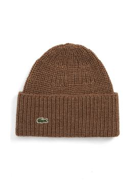 Ribbed Wool Beanie by Lacoste