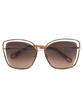 Oversized Sunglasses by Chloé Eyewear