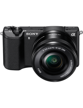 Sony Alpha A5100 Mirrorless Camera W/ 16 50mm Lens   Black by Sony