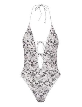 Esther Plunge One Piece   Snake by Meshki