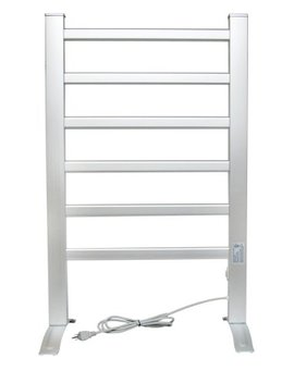Lcm Home Fashion 6 Bar Freestanding Towel Warmer, Drying Rack by Lcm Home Fashion