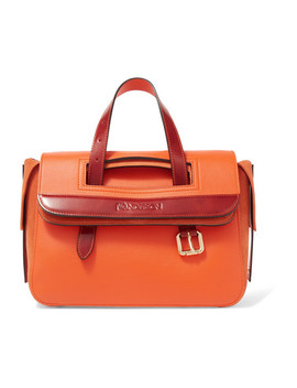 Tool Mini Leather And Suede Tote by Jw Anderson