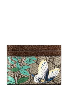 Butterfly Card Case by Gucci