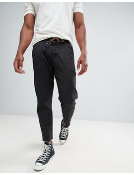 Only & Sons Trouser In Cropped Tapered Fit With Drawstring Waist by Only & Sons