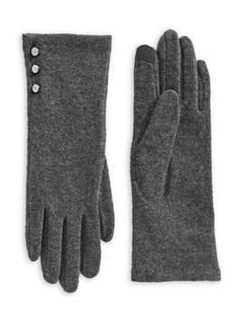 Three Button Touchscreen Gloves by Lauren Ralph Lauren