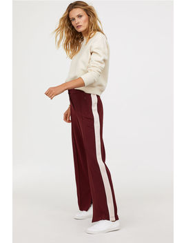 Trousers With Creases by H&M